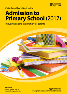 admissions policy 2017 2018 st joseph s catholic junior school birtley