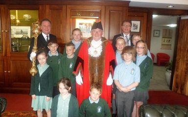 School Council Visit to Civic Centre