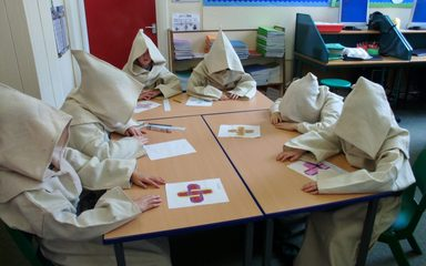 Lindisfarne Gospels Workshop in School