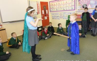 Y3 Act up a Storm – Literally!