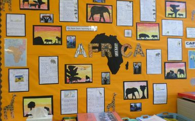 Y4 have been Exploring Africa
