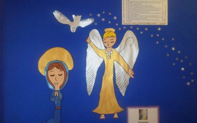 Advent Reflection – Week 1 – The Annunciation by Year 4