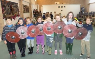Year 4 Travel Back to Anglo-Saxon Times