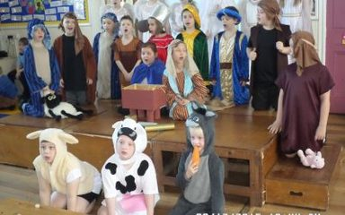 Our Musical Nativity Christmas Stars!