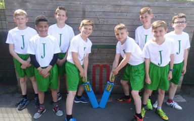 Congratulations to our Y6 Cricket Team