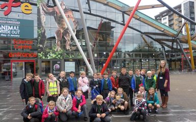 Y4 had a Lot to Digest at the Centre for Life