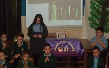 Y5 Advent Liturgy – Joy, the Shepherds' Candle