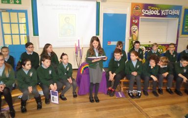 Y6 Advent Liturgy – The Angels' Candle