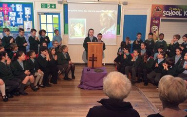 Stations of the Cross – A Lenten Liturgy by Y5 & Y6