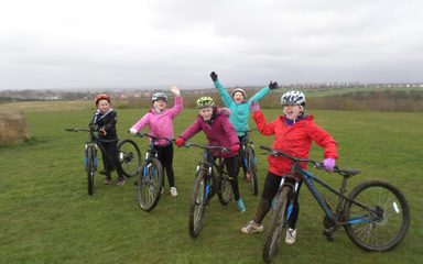 Y5 Go Cycling at Herrington Park!