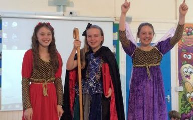 The Tempest – a farewell performance by Year 6.