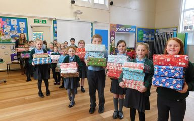 Operation Christmas Child Shoebox Appeal