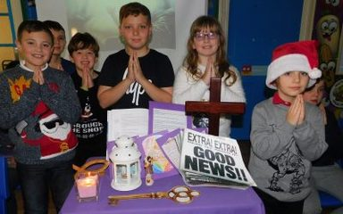 Y5 Lenten Liturgy – the Candle of Joy