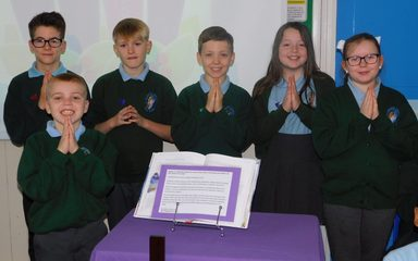 Y6 Advent Liturgy – the Candle of Love