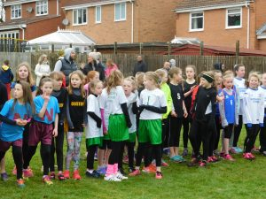 Gateshead Schools Cross-Country Competition at Watergate Park