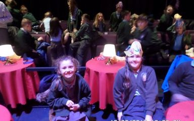Y3&Y4 see Alice in Wonderland at the Northern Stage