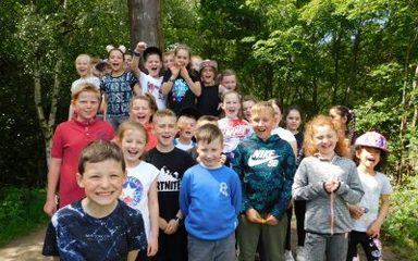 Y4 visit to Chopwell Woods