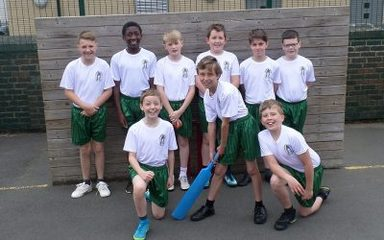 Y6 Boys Kwik Cricket Team 2018