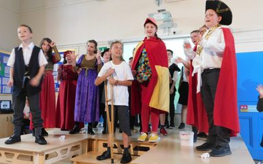 The Pied Piper of Hamelin performed by Year 6.