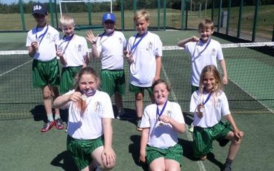 Our Y5 Mini Tennis Champions!