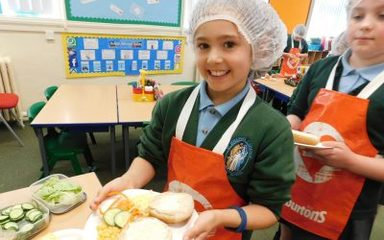 Warburton's Healthy Eating Workshops.