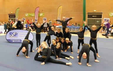 A Spectacular Performance by St Joseph's Gymnasts