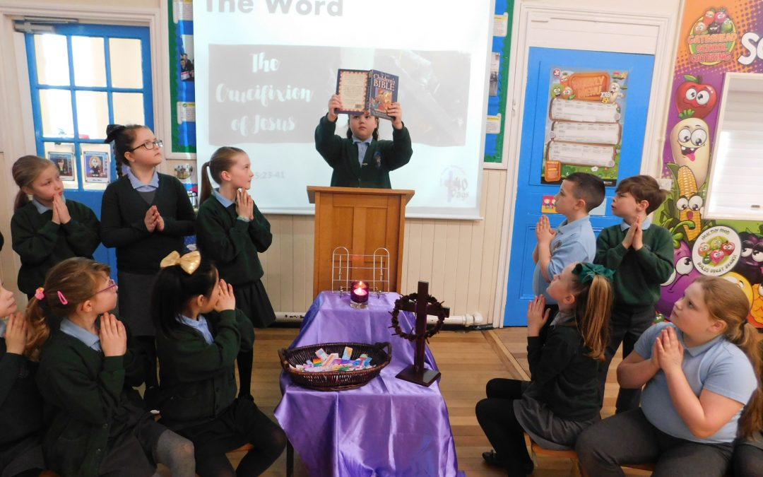 A Lenten Liturgy led by Y4.