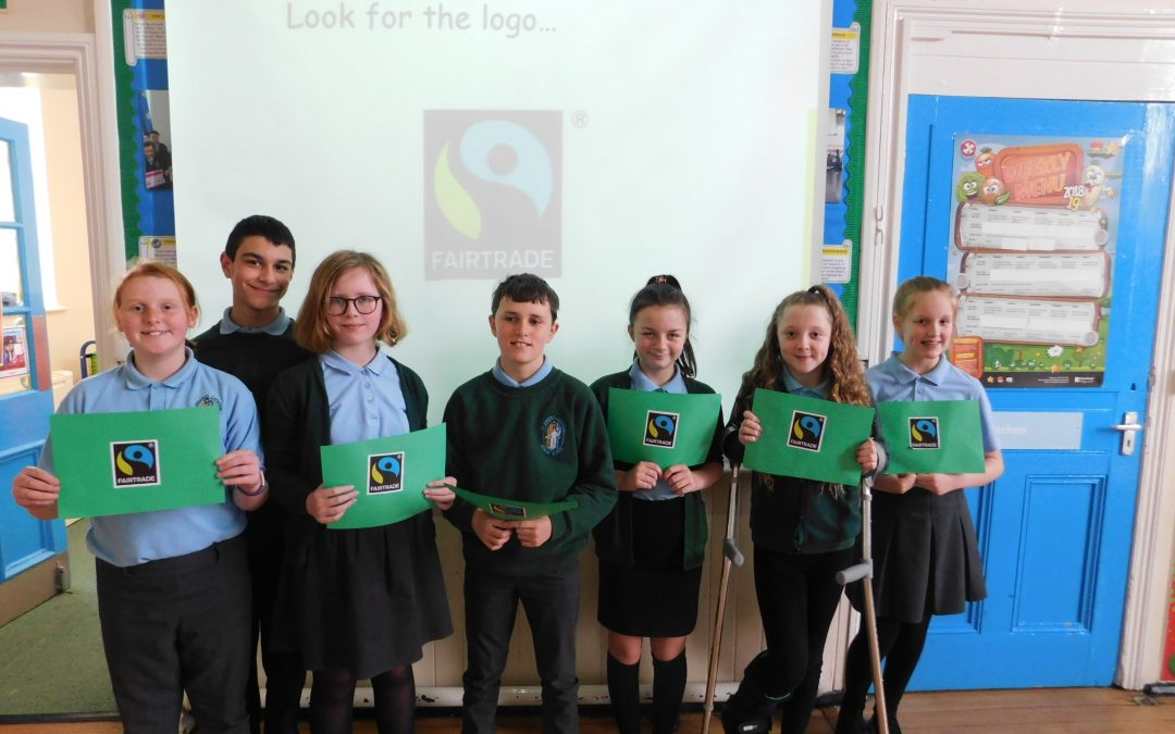 Celebrating Fairtrade Fortnight.