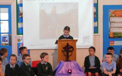 A Lenten Liturgy led by Year 3