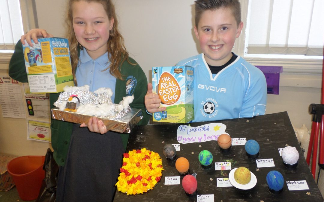 Our Annual Egg Decorating Competition