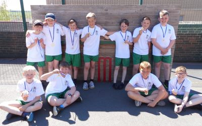 Cricket Gold Medal Winners!