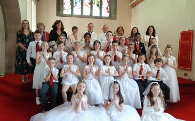 Celebrating First Holy Communions
