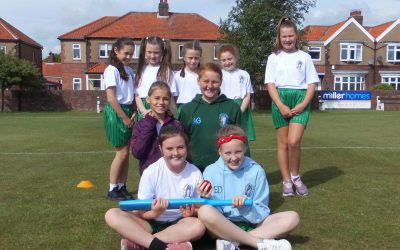 Girls Kwik Cricket Competition
